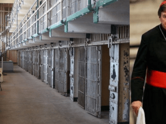 """CARDINAL IN A CELL! Child rapist George Pell tells faithful he is """"joyful and content"""" with prison only a """"small inconvenience"""""""
