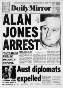REJOICE! HALLELUJAH! Racist radio tosser, One Nation supporter & teenage schoolboy love-letter writer Alan Jones to lose 2GB job