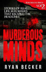 Murderous Mind Volume 2 Book Cover By Ryan Becker