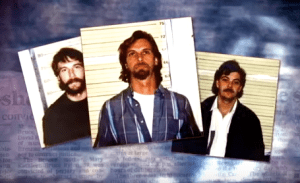 The Bruce brothers after their arrest for the murders