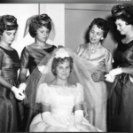 Cathy Leissner, seen here as a bride, was murdered by husband Charles Whitman