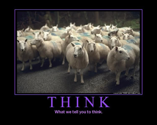 Image result for people as sheep