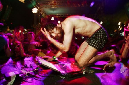 Gregg Gillis, of Girl Talk