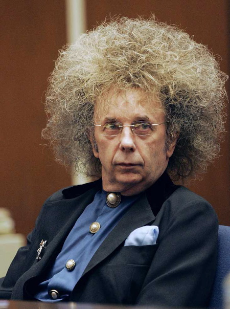 Phil Spector and his wall of hairspray