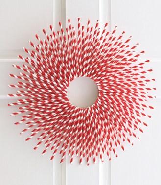 Strawburst Wreath