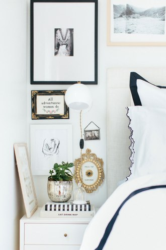 The-Everygirl-Alaina-Danielle-Home-Tour-Bedside-Table-Long-view