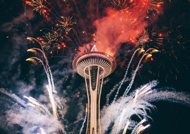 Como é comemorado o Ano Novo nos Estados Unidos?