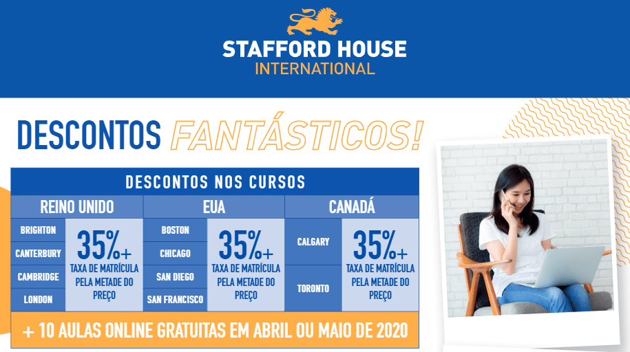 Promoção Stafford House