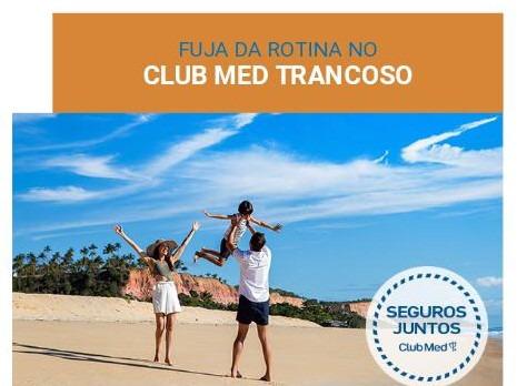Fuja da Rotina no Club Med Trancoso