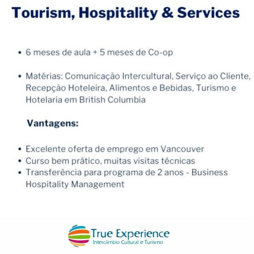 Tourism, Hospitality and Services