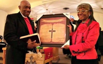 Pastor and Elect Lady Brown Honored