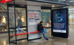 TfL Advertising Shelter 1