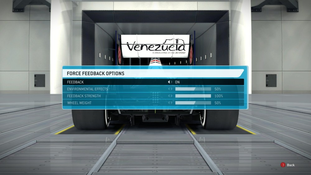 Logitech Driving Force GT Settings for F1 2013 (4/4)