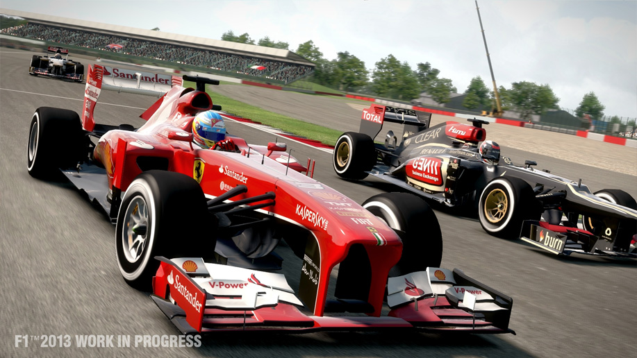 Logitech Driving Force GT Settings for F1 2013 (1/4)