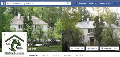 True Green Roofing Solutions on Facebook
