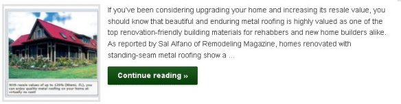 Appreciate Your Home with Quality Metal Roofing - Click to Read More