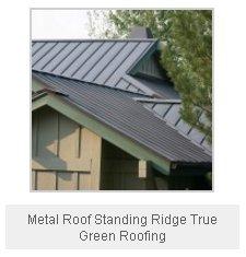 Metal Roof Standing Ridge