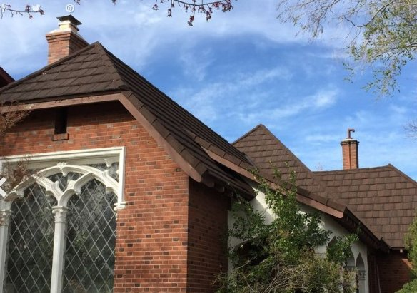 New Roof - Historic Reno Home Gets Re-Roof Transformation with Metal Roof