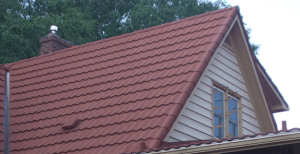 Coated Steel Shingle Metal Roof-4