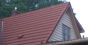 Coated Steel Shingle Metal Roof-4