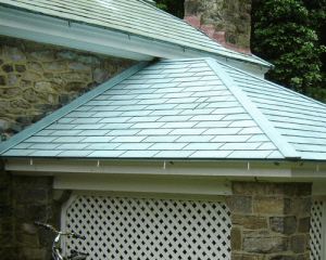 Copper Natural Metal Roof