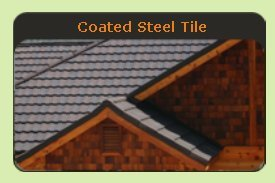 Coated Steel Tile Metal Roof - Click to See Examples