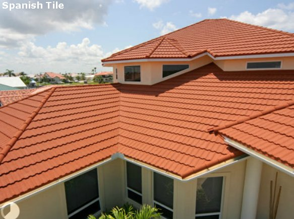 coated steel spanish tile pictures and