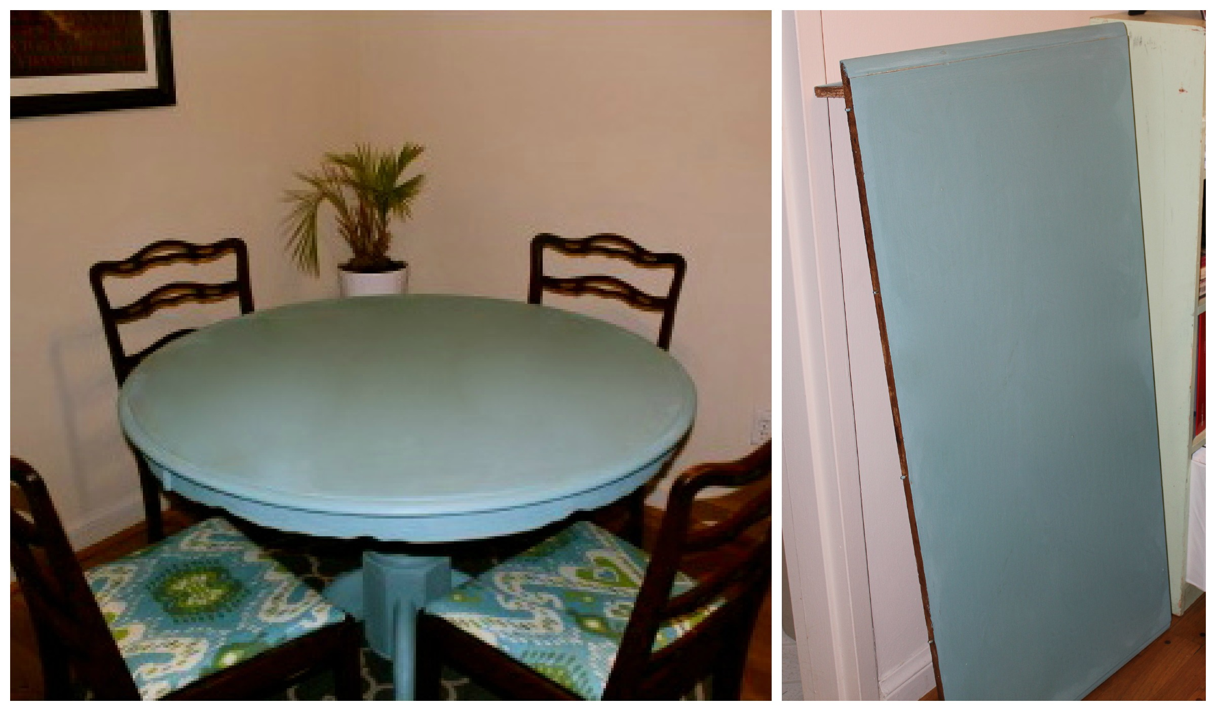 painted table and chairs sky chair instructions chalk paint dining room gypsy soul