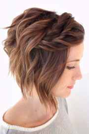 fancy updos short hair truehairstyle