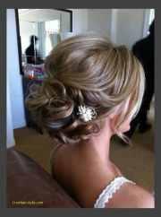 simple wedding hairstyle medium
