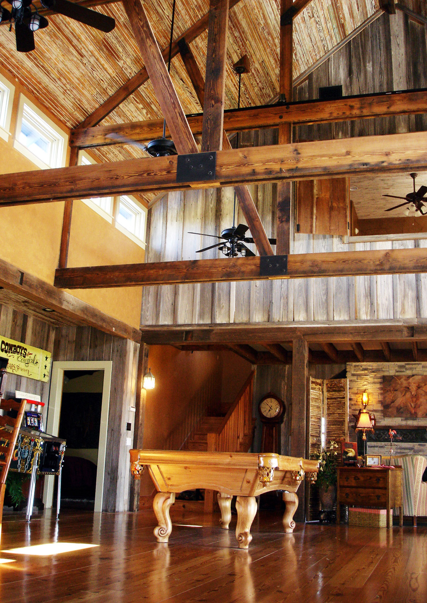 Family Party Barn in Rural Texas  Truehome Design Build