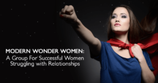 Modern Wonder Women Facebook graphic