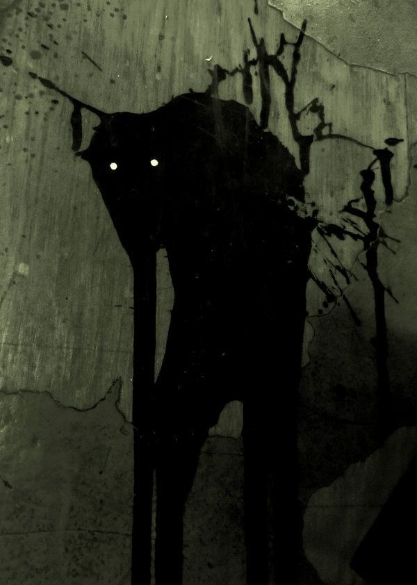 Black Dog Creature