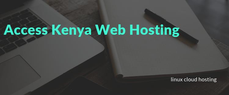Access Kenya Web Hosting