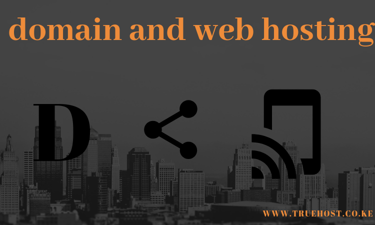 Domain and web hosting in Kenya
