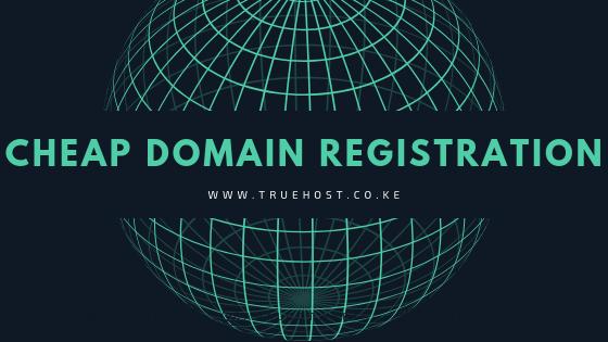Cheap Domain Registration Service