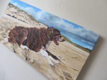 portrait canvas detail