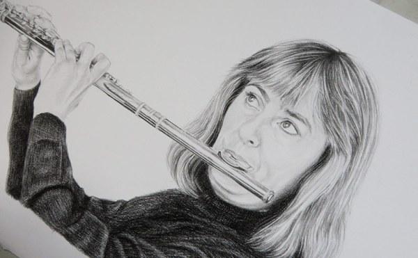 flutist - detail
