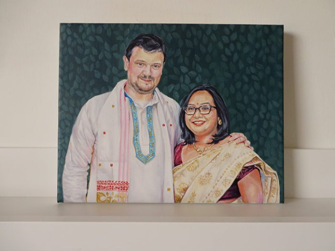 family paintings on canvas