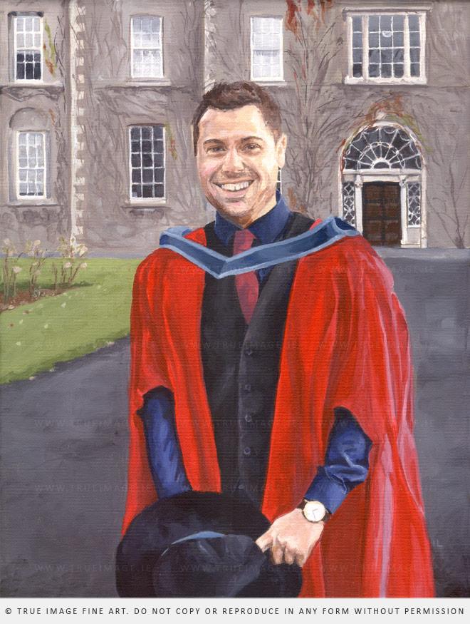 a portrait painting
