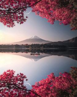 Beautiful nature in Japan
