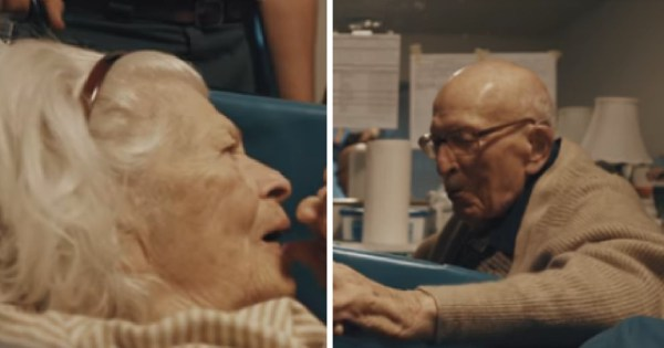 105-Yr-Old Man Expressing Love To Wife On 80th Anniversary, Says 7 Words Grandson Bursts Into Tears