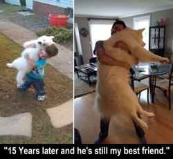 """""""15 Years later and he's still my best friend.""""  Love this! <3"""