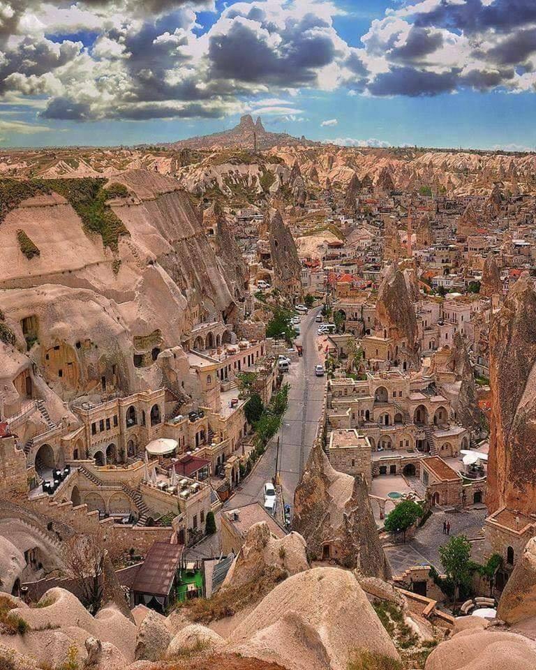 A Postcard from cappadocia, turkey.