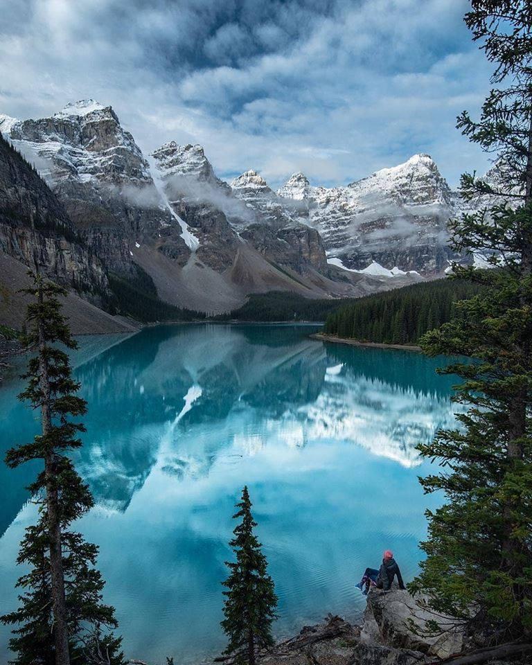 The best lake in Western Canada  — Moraine Lake
