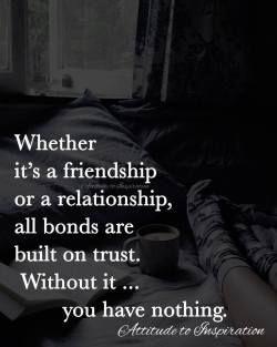<3 Whether it's a friendship or a relationship …