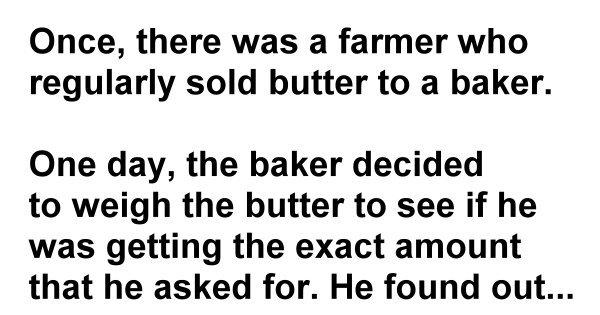 A Pound of Butter – A Short Inspiring Story