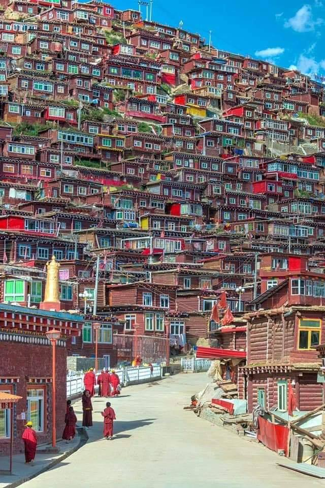 A village in Tibet. :o