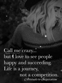 Call me crazy …