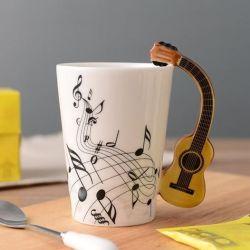 Love it! Novelty Guitar Ceramic Mug >>   .